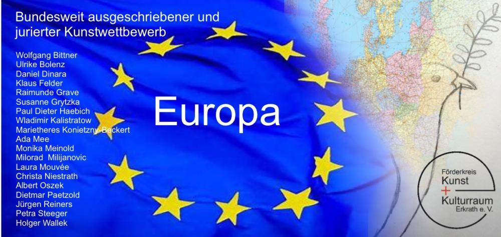 """BUNDESWEIT AUSGESCHRIEBENER UND JURIERTER KUNSTWETTBEWERB """"EUROPA"""""""