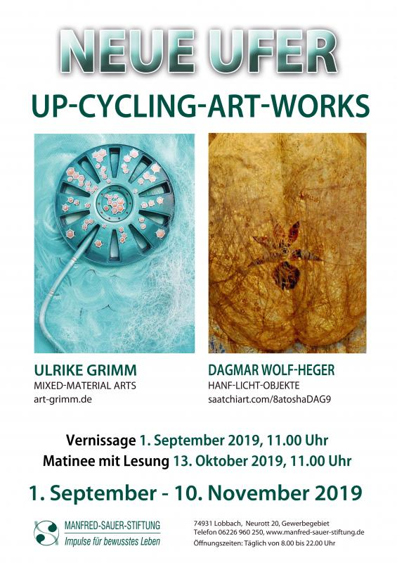 NEUE UFER - UP-CYCLING-ART WORKS