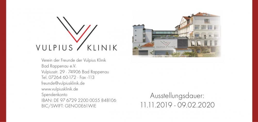 Ausstellung in der Vulpius Klinik Bad Rappenau