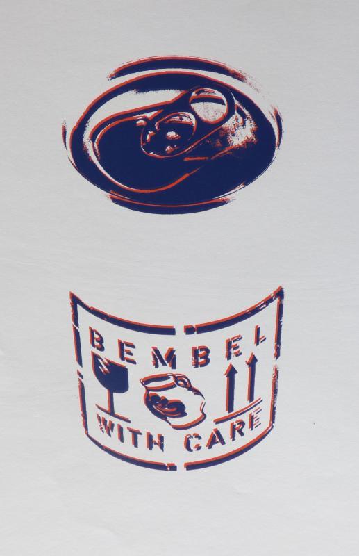 Bembel with care, limitierter Siebdruck, weitere Farbvarianten vorhanden