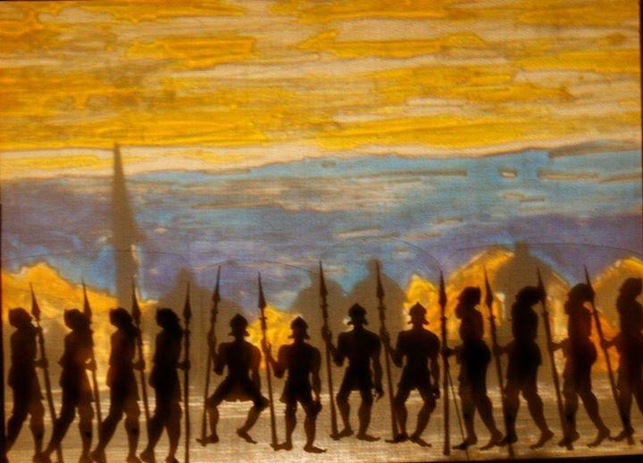 12 bärtige Soldaten