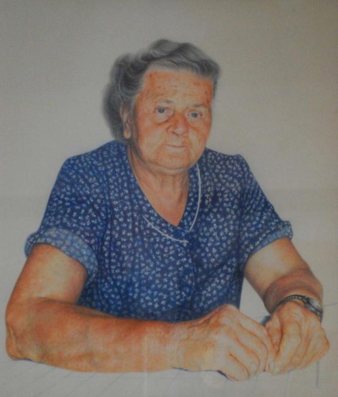 Tante Greta Buntstift