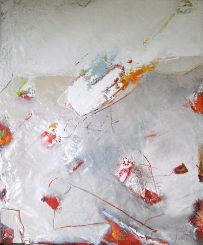 Nr 166 Visionen 80x100 Acryl auf Leinwand Ausstellung La Moda per Lei Speyer