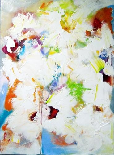 Nr. 790 Fülle Acryl auf Leinwand 90x110 cm