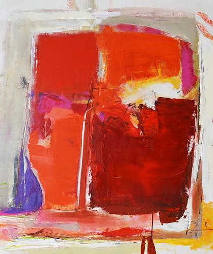 Nr. 542 Fortuna 90x110 cm Acryl auf Leinwand