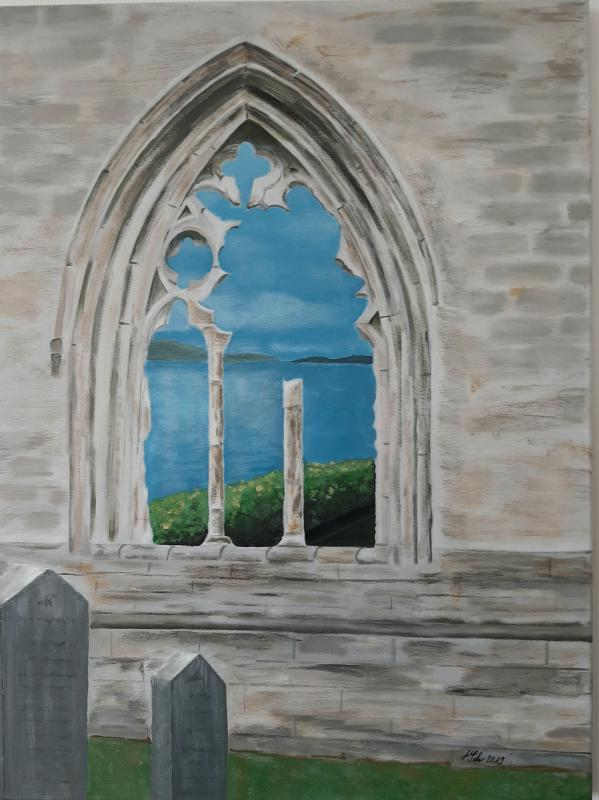 Dunkeld Cathedral 60x80